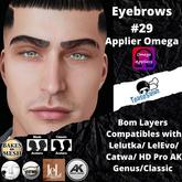 #TS#  Eyebrows #29 BOM - Lel Evo/Catwa HD Pro/ Classic