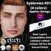 #TS#  Eyebrows #31 4 colors BOM - Lel Evo/Catwa HD Pro/ Classic