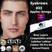 #TS#  Eyebrows #33 BOM - Lel Evo/Catwa HD Pro/ Classic