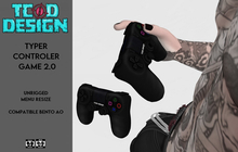 Typer Controler Game 2.0 [Compatible Ao Bento]...