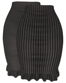 The Annex - Thea Skirt - Black