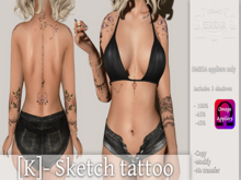 [K]- Sketch tattoo