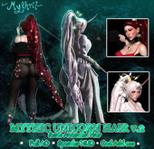 ~Mythril~ Mythic Unicorn Hair Flowers v.2 (ALL SIZES)
