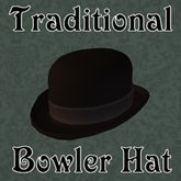 Traditional Bowler Hat
