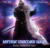 ~Mythril~ Mythic Unicorn Hair Flowers (ALL SIZES)