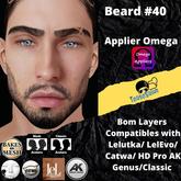 #TS# Beard #40 BOM - Lel Evo/Catwa HD Pro/AK/ Classic