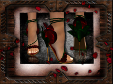 .:[RatzCatz]:. Rosie's Sandals 'Valentine' - The Original Rose Heels