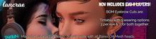 LANCRAE Unpacker - Lelutka Evo & EvoX / BOM Eyebrow Cuts