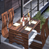 <Heart Homes> Nippon Sushi Table with Deco
