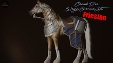 Cheval D'or / TeeglePet Friesian / Wrynn Armour Tack Set. (Boxed)