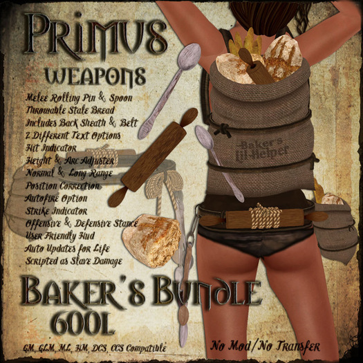 Primus Bakers Bundle 4.5