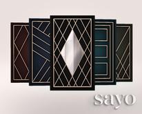 SAYO - Geometric Wall Panel - Deluxe Pack