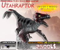 Dawn Kingdoms ~ Utahraptor {Bento Mesh Avatar} v1.665