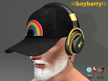 boyberry Pride Headphones Cap