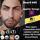 #TS# Beard #46 BOM - Lel Evo/Catwa HD Pro/AK/ Classic