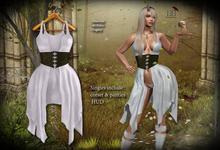 (*<*) 1313 Jasnah Dress - White