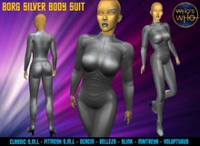 WW Borg Silver Body Suit