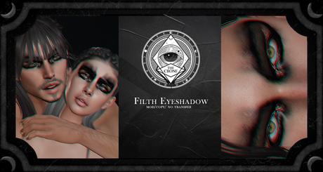 the crone . filth eyeshadow {BOM}