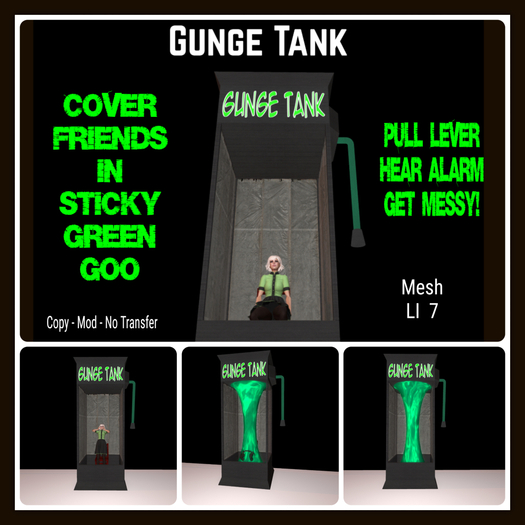Gunge Tank v1.3 [Moon Bunny Inc.]