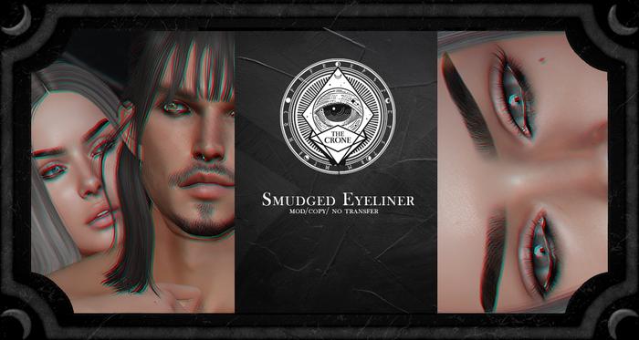 the crone . smudged eyeliner {bom}