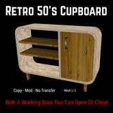 Retro 50's Cupboard [Moon Bunny Inc.]