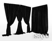 SAYO - Velvet Drapes - Soot