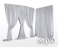 SAYO - Velvet Drapes - Cloud