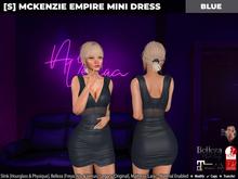 [S] Mckenzie Empire Mini Dress Blue