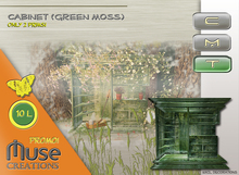 .::Muse Creations::. Cabinet (Promo Moss)(sculpted)