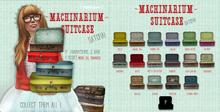 {vespertine- machinarium suitcase/traveler RARE