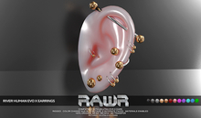 RAWR! River Earrings HUMAN  EvoX (add me)