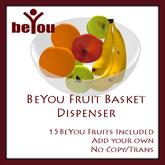 BeYou Fruit Basket Dispenser with 15 Fruits