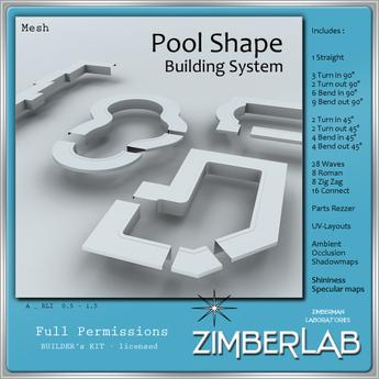 Pool Shapes Mesh full perm - ZimberLab Builder's Kit A