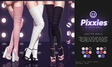 Pixxies :: Lolitta Heels Fatpack (Unpack HUD)