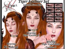 XS Primal Evo X Tiger Eyeliner Set