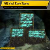 [FYI] Mesh Rune Stone on Stone Tablets