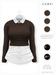 GAWK! .Brenda. Wool Sweater - Chocolate   for Maitreya // Maitreya Petite