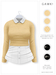 GAWK! .Brenda. Wool Sweater - Cornsilk   for Maitreya // Maitreya Petite
