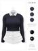 GAWK! .Brenda. Wool Sweater - Navy   for Maitreya // Maitreya Petite