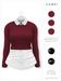 GAWK! .Brenda. Wool Sweater - Raspberry   for Maitreya // Maitreya Petite