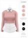 GAWK! .Brenda. Wool Sweater - Salmon   for Maitreya // Maitreya Petite
