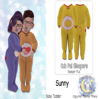 {SMK} Cub Pal Sleeper   Sunny