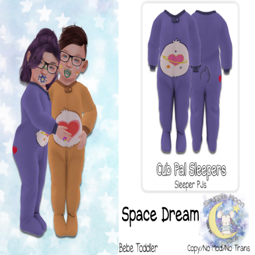 {SMK} Cub Pal Sleeper | Space Dream