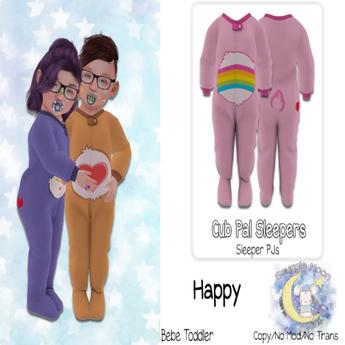 {SMK} Cub Pal Sleeper | Happy