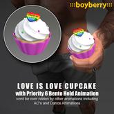 boyberry Pride Cupcake
