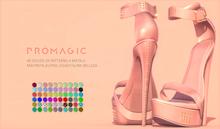 PROMAGIC Dharti Heels-60 Colors FATPACK-Maitreya Legacy Kupra Slink Belleza