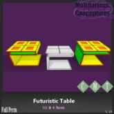 [MC] Futuristic Table