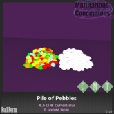 [MC]  Pile Of Pebbles  (wear to unpack)