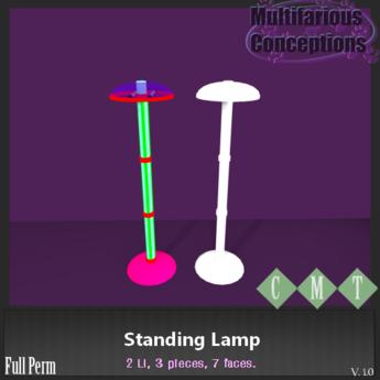 [MC] Standing Lamp (wear to unpack)