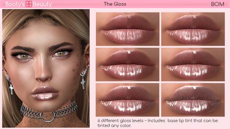 *Booty's Beauty* [BOM] The Gloss BOM Lip Gloss
